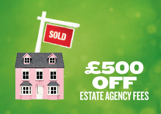 500 off estate agency fees