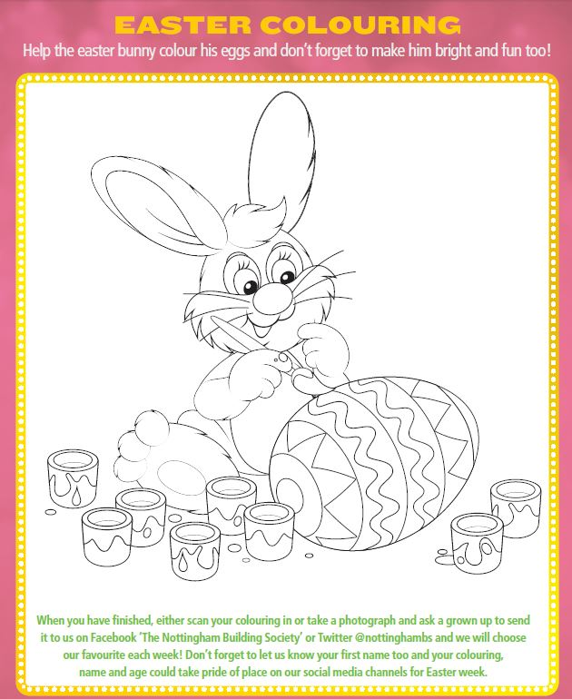 Easter Colouring Article Image