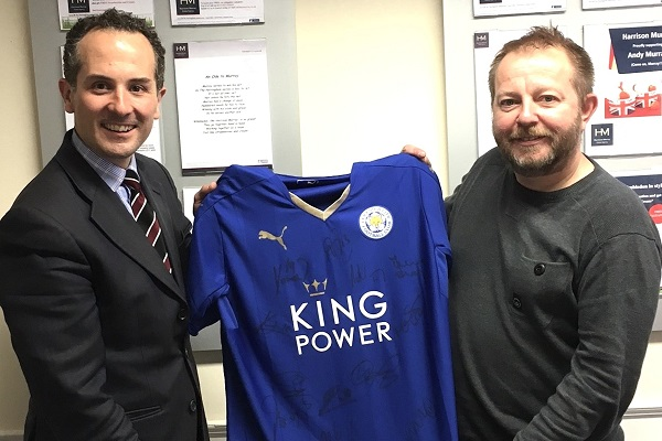 HM Lutterworth LCFC shirt winner