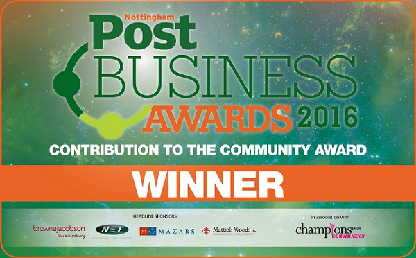 Nottingham Post Business Awards winners