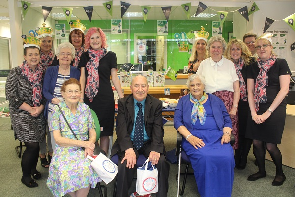 Wollaton Queens 90th Birthday party